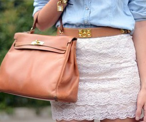 fashion, bag, and skirt image