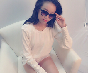 classy, girl, and sunglasses image