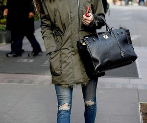 fashion, streetstyle, and winter image