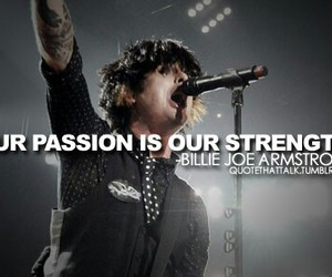 billie joe armstrong, quote, and green day image