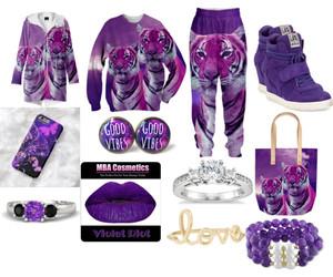 big cats, fashion, and tiger image
