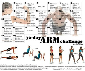 arm, 30 day, and challenge image