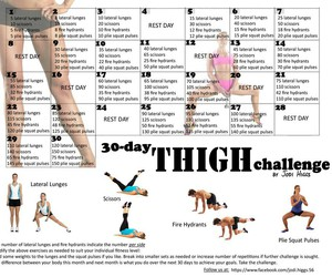 challenge, thigh, and 30 day image