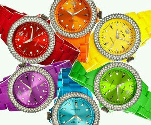 accessories, color, and watches image
