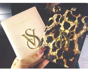 Victoria's Secret, passport, and style image