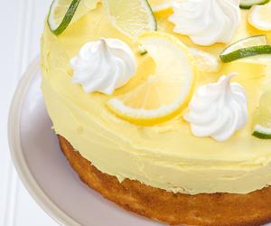 buttercream, curd, and lemon image