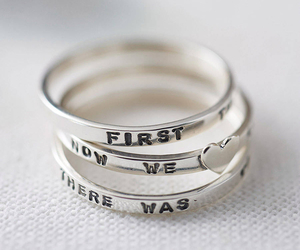 fashion, ring, and silver image