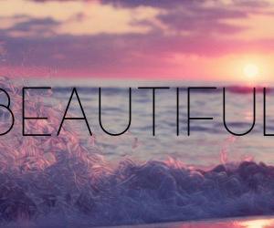 beautiful, beach, and sea image