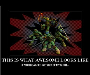 awsome and tmnt image