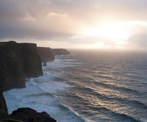 ireland, nature, and ocean image