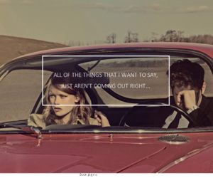 couple, car, and girl image