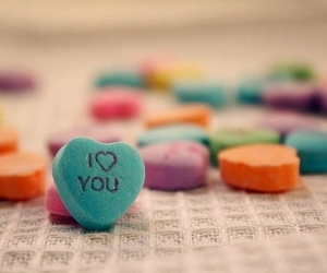 love, I Love You, and candy image
