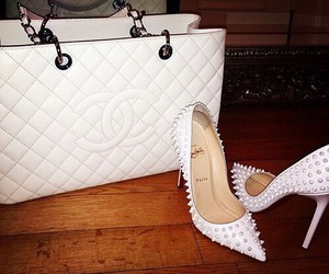 bag, shoes, and chanel image