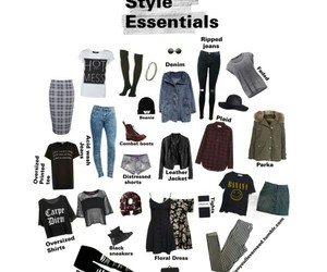 clothes, grunge, and mode image