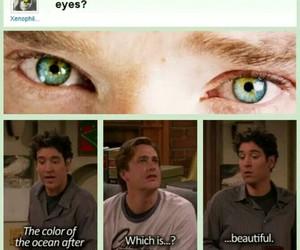 benedict cumberbatch, eyes, and funny image