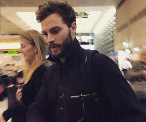 Jamie Dornan, christian grey, and low quality image
