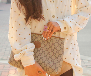 clutch, nails, and fashion image
