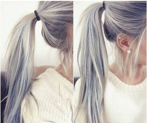 hair and ponytail image
