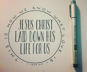 jesus, love, and bible image