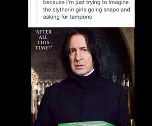 snape, harry potter, and always image