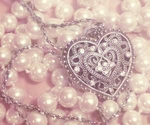 girly, heart, and jewelery image