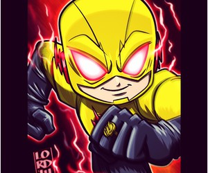 the flash, lordmesa art, and flash reverse image