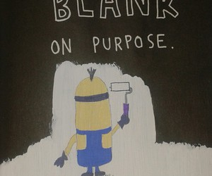 minions, painting, and WTJ image