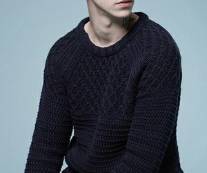 Ash Stymest, model, and pale image