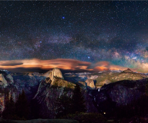 sky, stars, and universe image