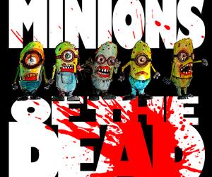 minion, parody, and zombie image