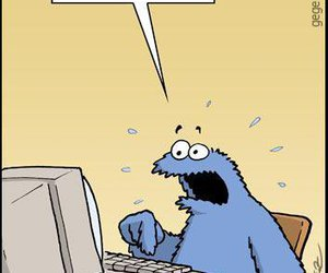 cookie monster, Cookies, and funny image