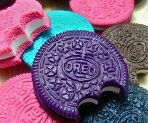oreo, pink, and food image