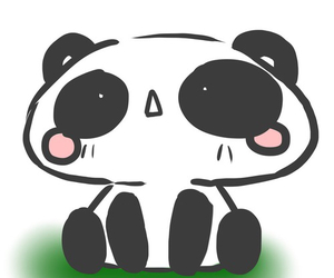 kawaii and panda image