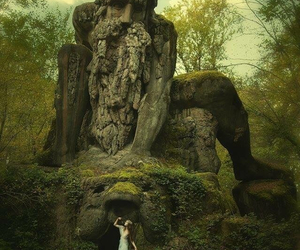 dress, fairy tale, and nature image