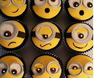 blue, yellow, and cake image