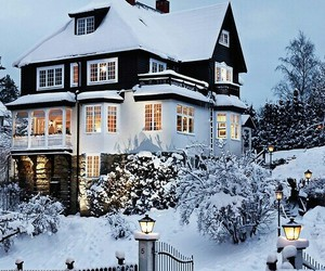 cold, dream house, and house image