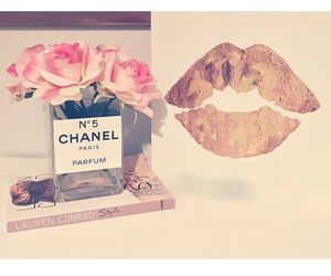 chanel, fashion, and lips image