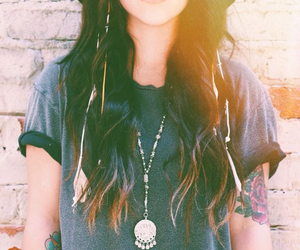 girl, indie, and hipster image