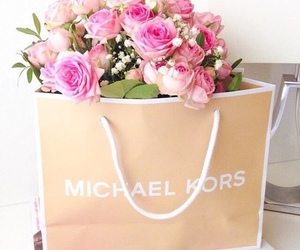 flowers, Michael Kors, and rose image
