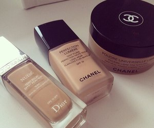 chanel, dior, and makeup image