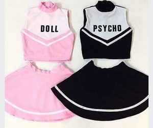 doll, pink, and Psycho image