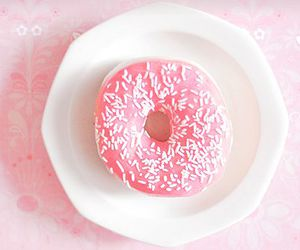 donut, yummy, and love image