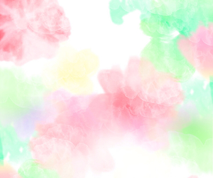 background, girly, and flower image