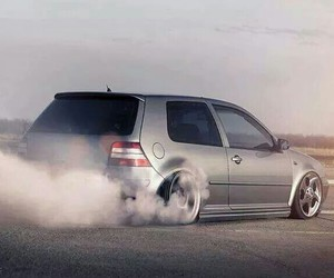 golf, gris, and vw image