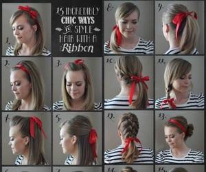 cabelo, penteados, and diy image