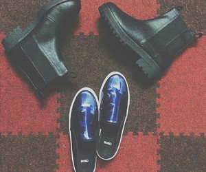 asos, black, and blue image