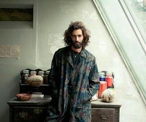 hippie, man, and artist image