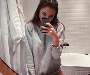 girl, selfie, and tumblr image