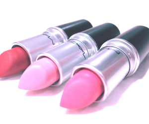 beautiful, lipstick, and pink image