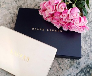flowers, ralph lauren, and rose image